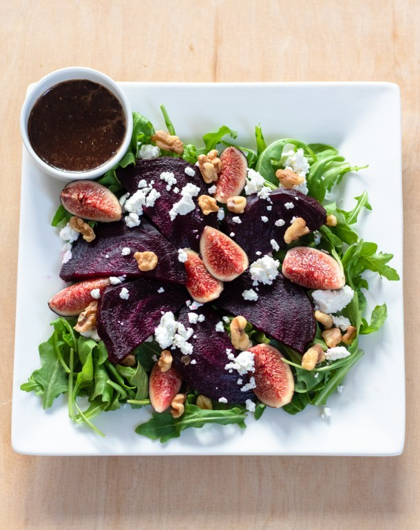 Beet Fig Salad by Diverse Dinners