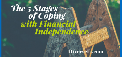 The five Stages of Coping with Financial Independence