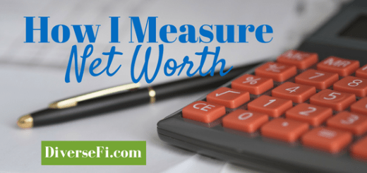 How I Measure Net Worth