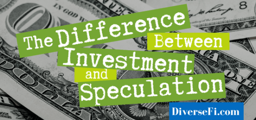 The Difference Between Investment and Speculation