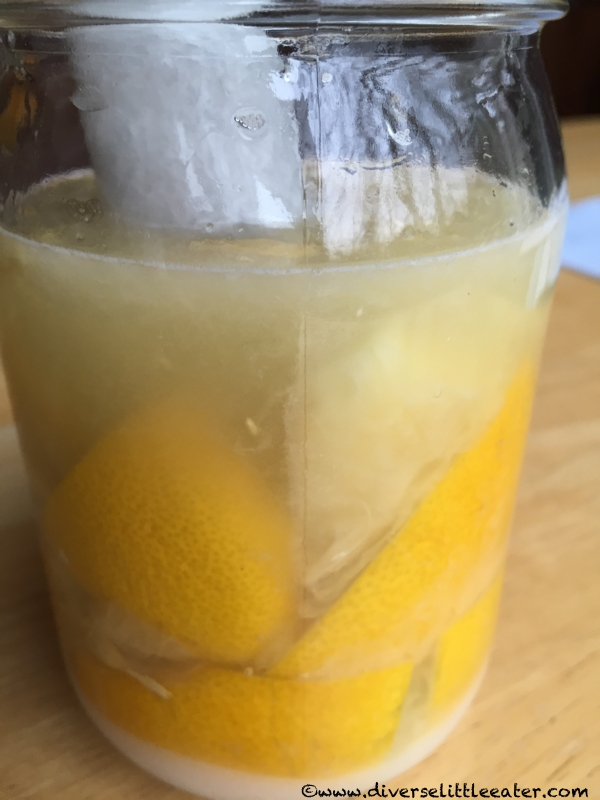 Final Squeeze of Lemons for Fermentation