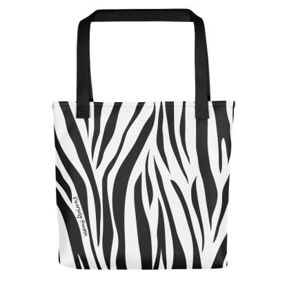 Rare Disease Zebra Tote Bag