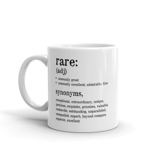 The Definition of Rare Coffee Mug