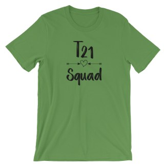 t21 squad shirt leaf green