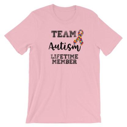 Team Autism Lifetime Member T-Shirt