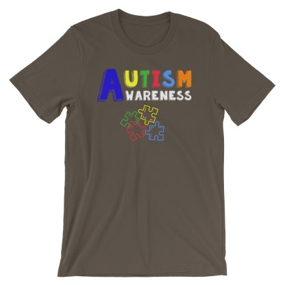 Autism Awareness Puzzle T-Shirt