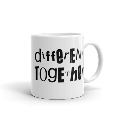 Different Together Coffee or Tea Mug