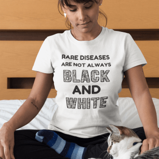 Rare Diseases are not always black and white T-Shirt