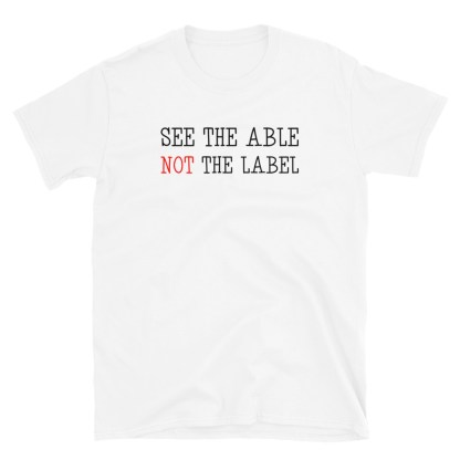 see the able shirt white