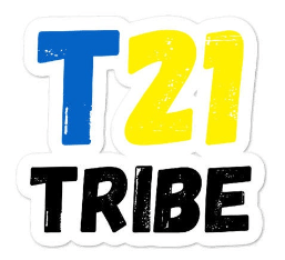 T21 tribe sticker