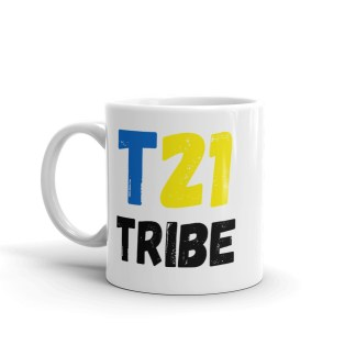 T21 Tribe Mug – Down Syndrome Awareness