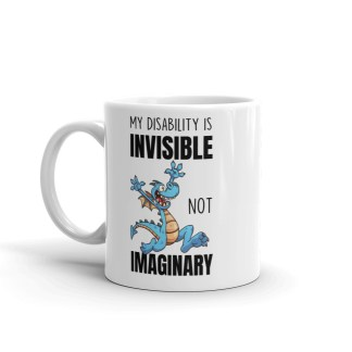 invisible not imaginary mug