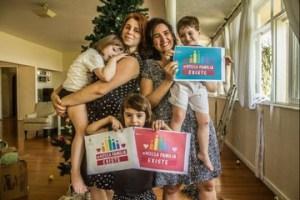Casais homoafetivos publicam fotos nas redes sociais para dar cara à formas alternativas de laços familiares