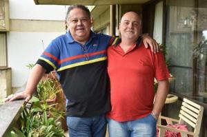 Carlos Eduardo e Osmir vivem juntos há 30 anos: mudanças no conceito de família. Foto: Zuleika de Souza/Correio Braziliense/Reprodução
