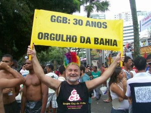 Luiz Mott, fundador do movimento LGBT na Bahia