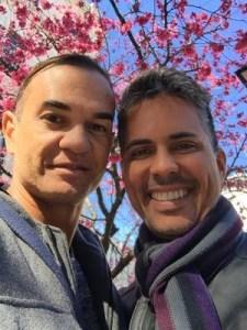 juiz Mário Soares Caymmi Gomes e o médico Alexandre de Moura Lima