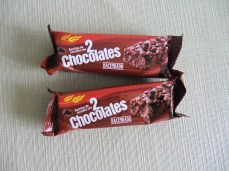 These are some chocolate bars, they really kill the hunger *except when I'm starving*