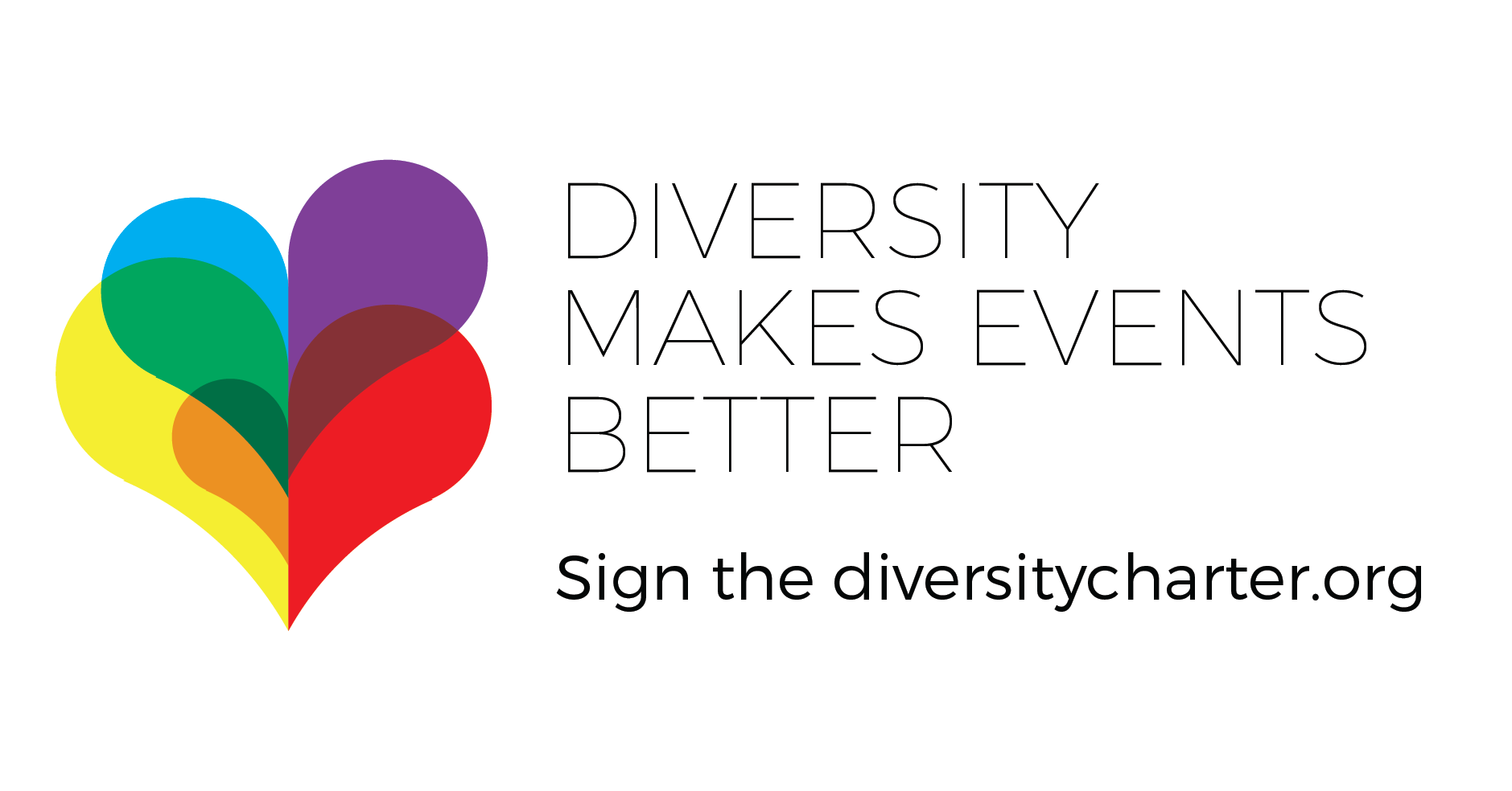 Diversity charter to promote diversity at conferences and events