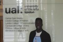 Ayo Akinwolere at UAL