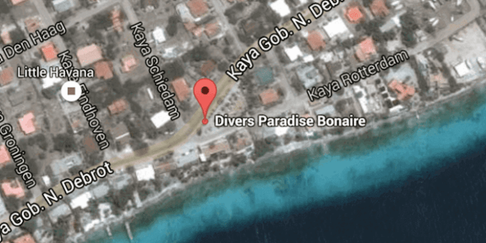divers paradise bonaire location