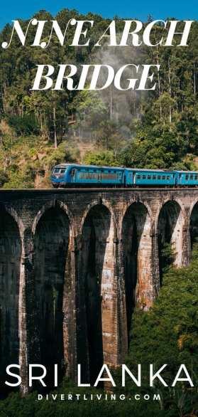 Nine Arch Bridge in Ella