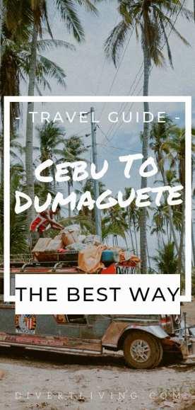 Cebu To Dumaguete