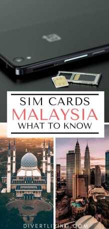 Malaysia Tourist Sim Card