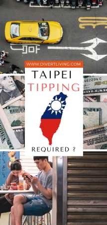 Tipping in Taipei