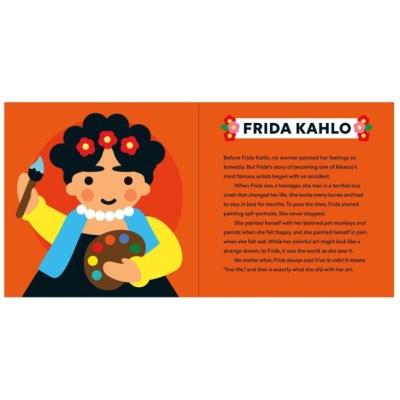 Little Feminist obrazkova kniha Frida Kahlo