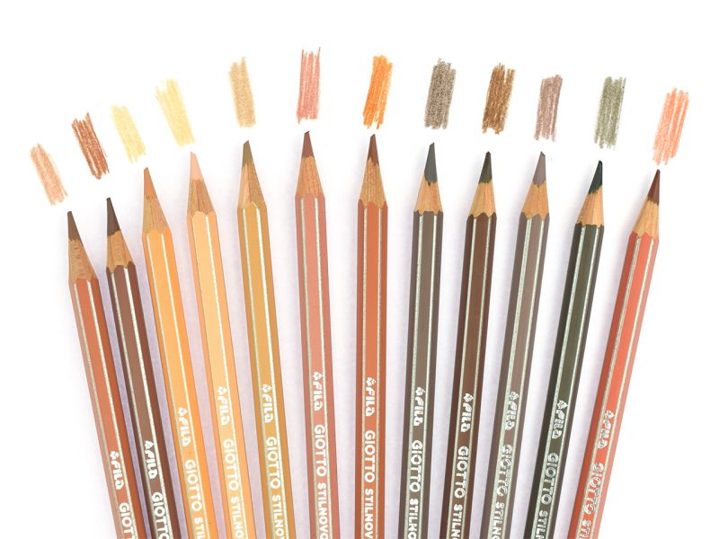 Ceruzky pleťovej farby