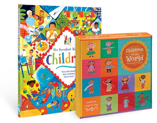 Children of the world - kniha+pexeso
