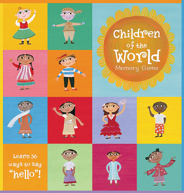 Children of the world pexeso