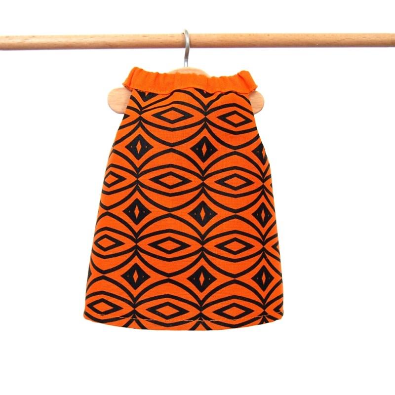 Šaty oranžové