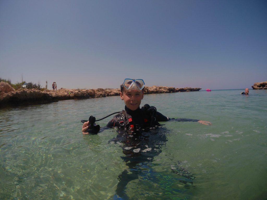 Happy Diver after Dive