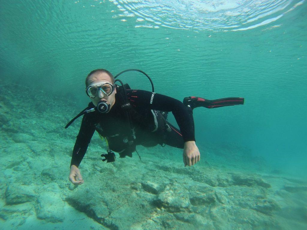 Diver in Trim