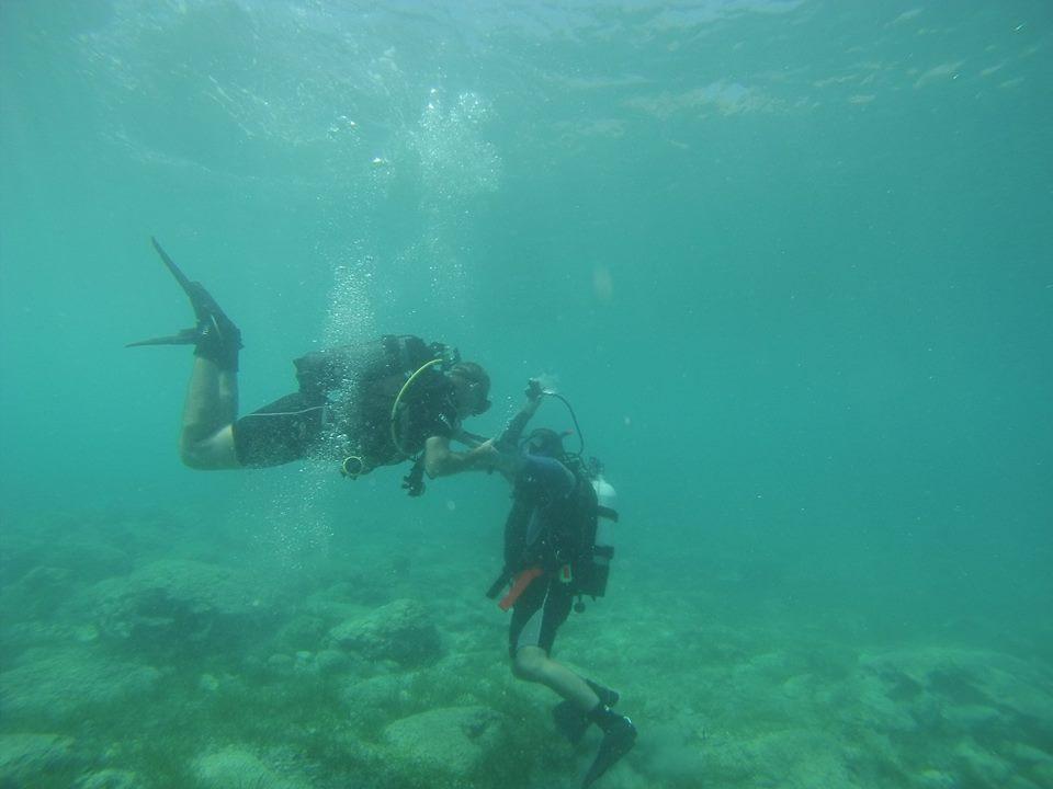 Diver U/Water rescue