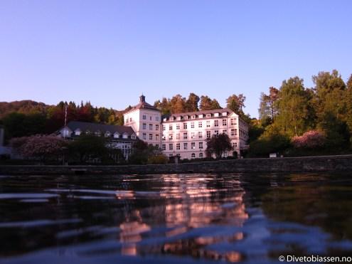 Kysthospitalet i Hagavik har en idyllisk beliggenhet