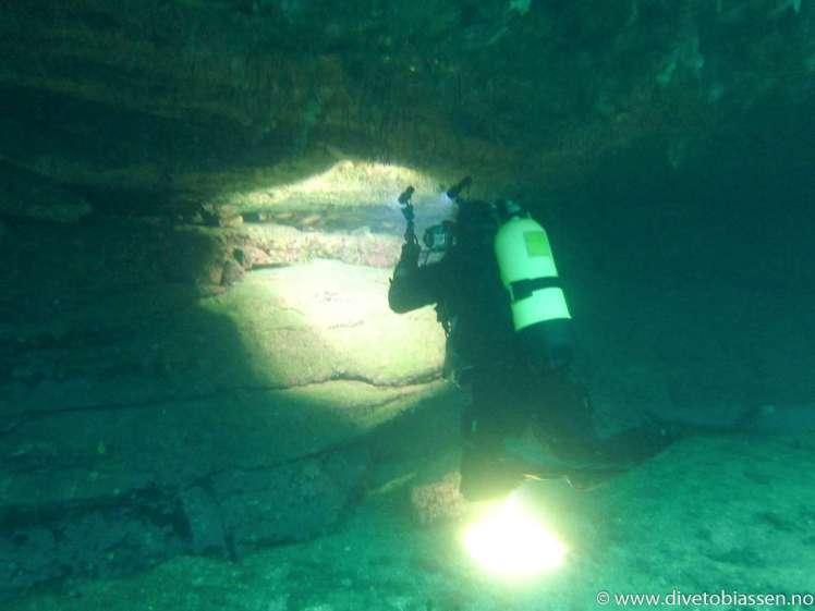Overheng, dykker, fotograf, (Adventure diver)
