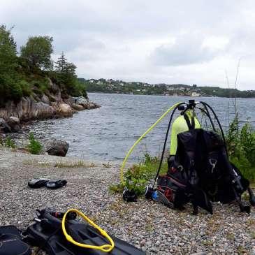 Kallestad, (Skylling av dykkerutstyret), (Koronavirus og dykking)