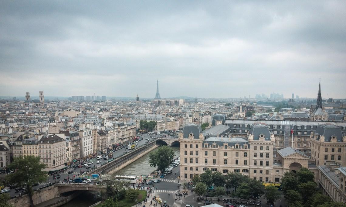 Vistas de París desde Notre Dame