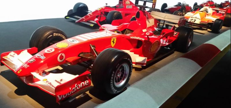 Ferrari F248 (Museo Automobile di Torino)