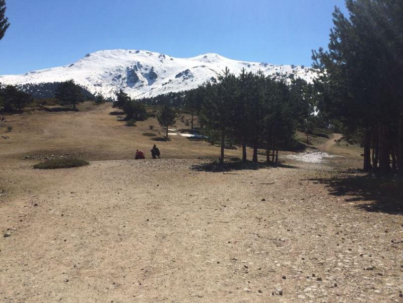Entrada a la Ruta en la Sierra de Guadarrama