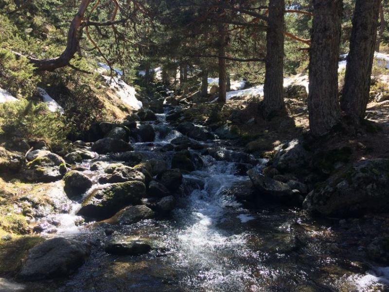 Río en la Sierra de Guadarrama
