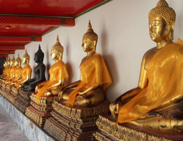 Imágenes de Buda en Wat Pho
