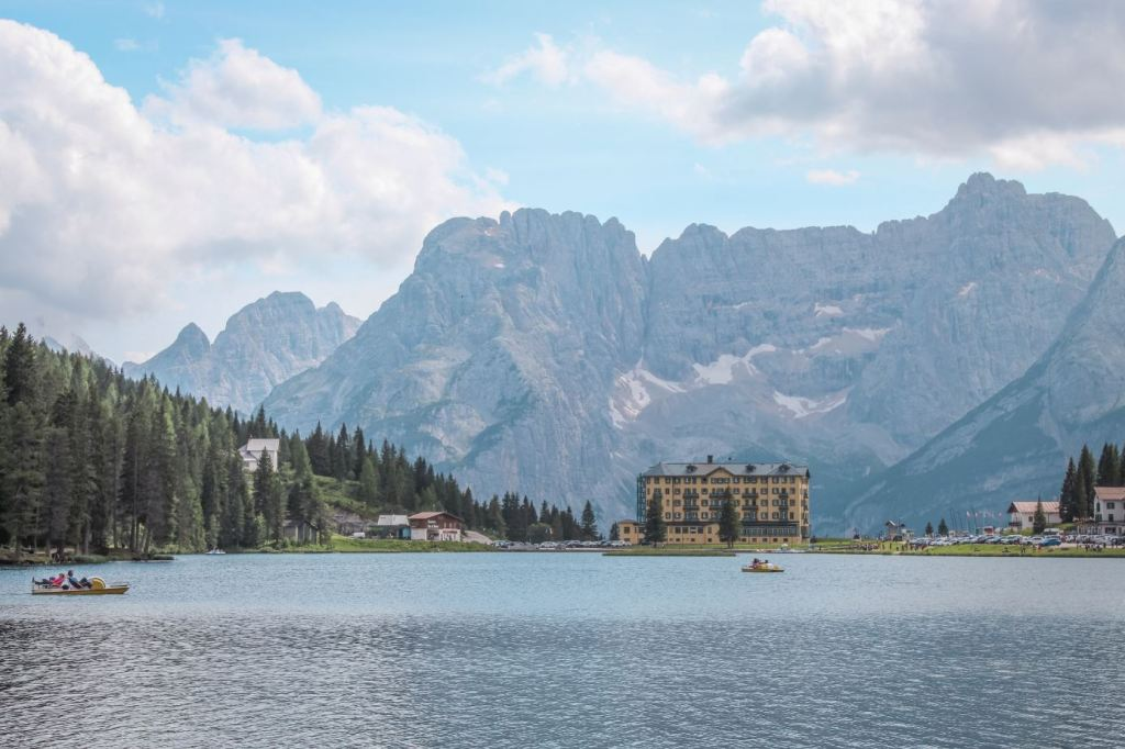 Que ver en Dolomitas: Lago Misurina