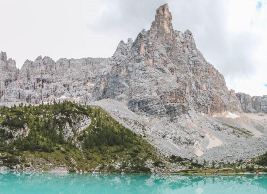 Panorámica Lago di Sorapis