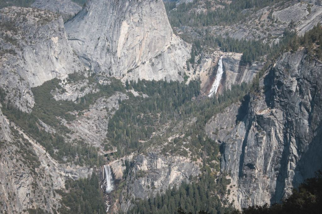 Vistas desde Washburn Point en Yosemite