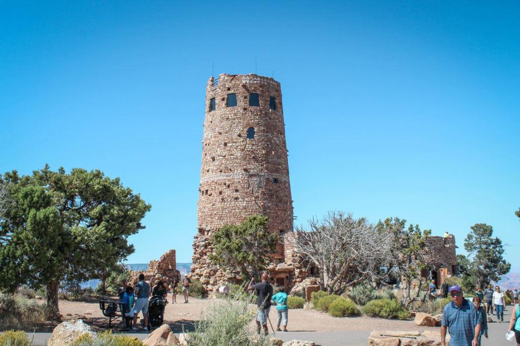 Que ver en el Gran Cañón: Desert View Watchtower