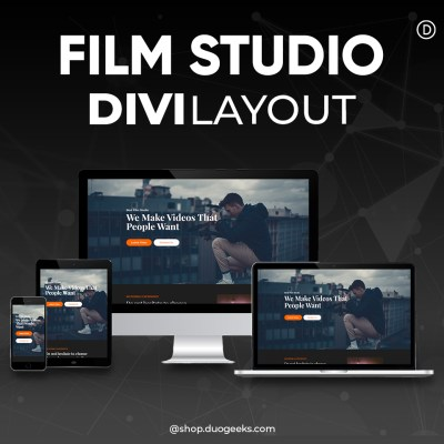 Divi Film Studio Layout