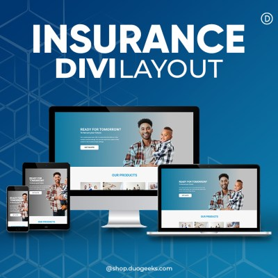 Divi Insurance Layout